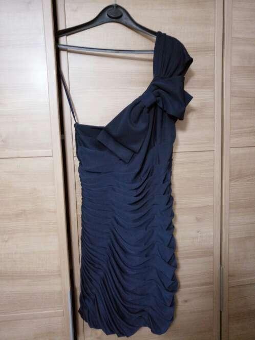 Imagen Vestido cocktel azul marino