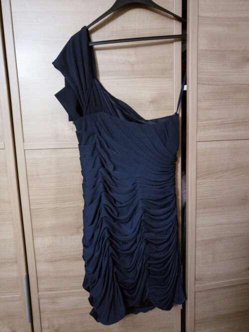 Imagen producto Vestido cocktel azul marino 3