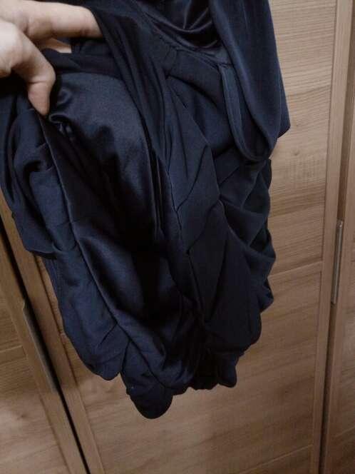 Imagen producto Vestido cocktel azul marino 5