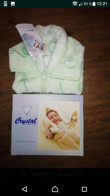 Imagen Saco de pelito para bebe, C, etiqueta