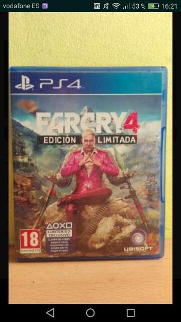 Imagen FARCRY 4 PS4 Precio Negociable