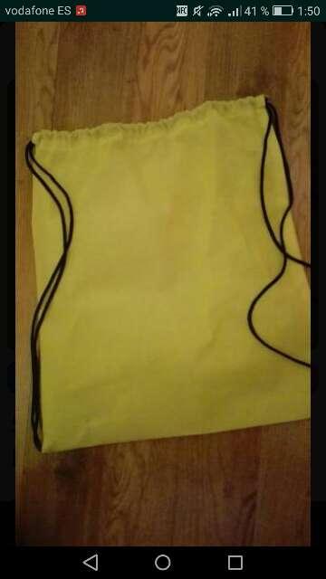 Imagen Mochila de tela con cuerdas
