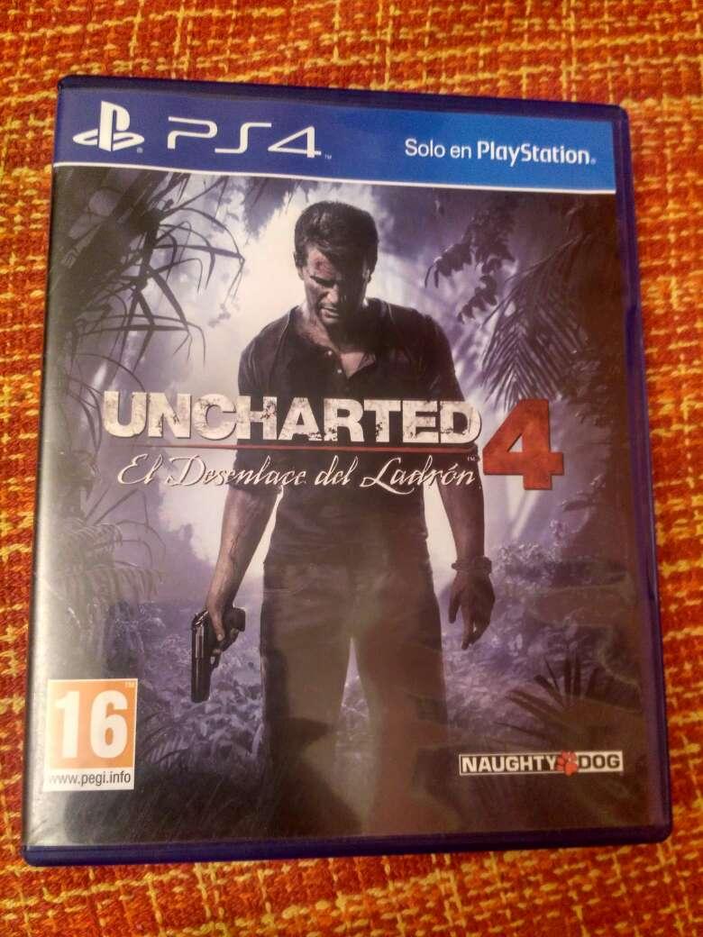 Imagen Uncharted 4: el desenlace del ladrón ps4