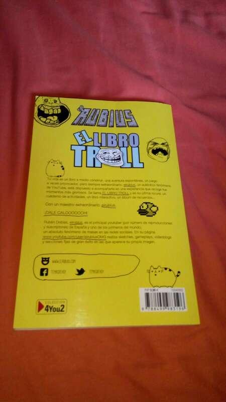 Imagen producto El libro troll 4