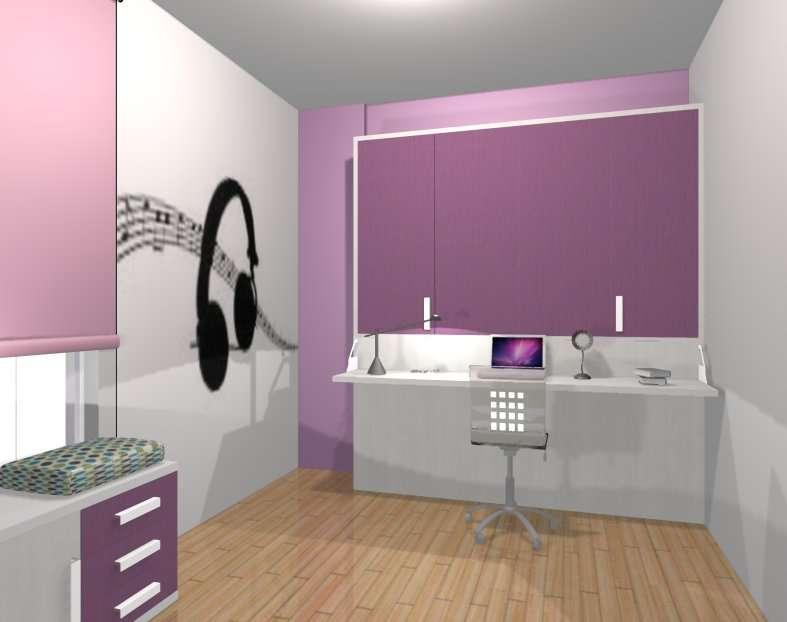 Imagen producto Habitación juvenil cama abatible 5