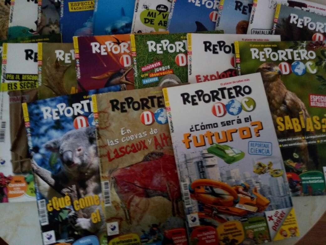 Imagen (Precio negociable) Colección de libros de Reportero Doc