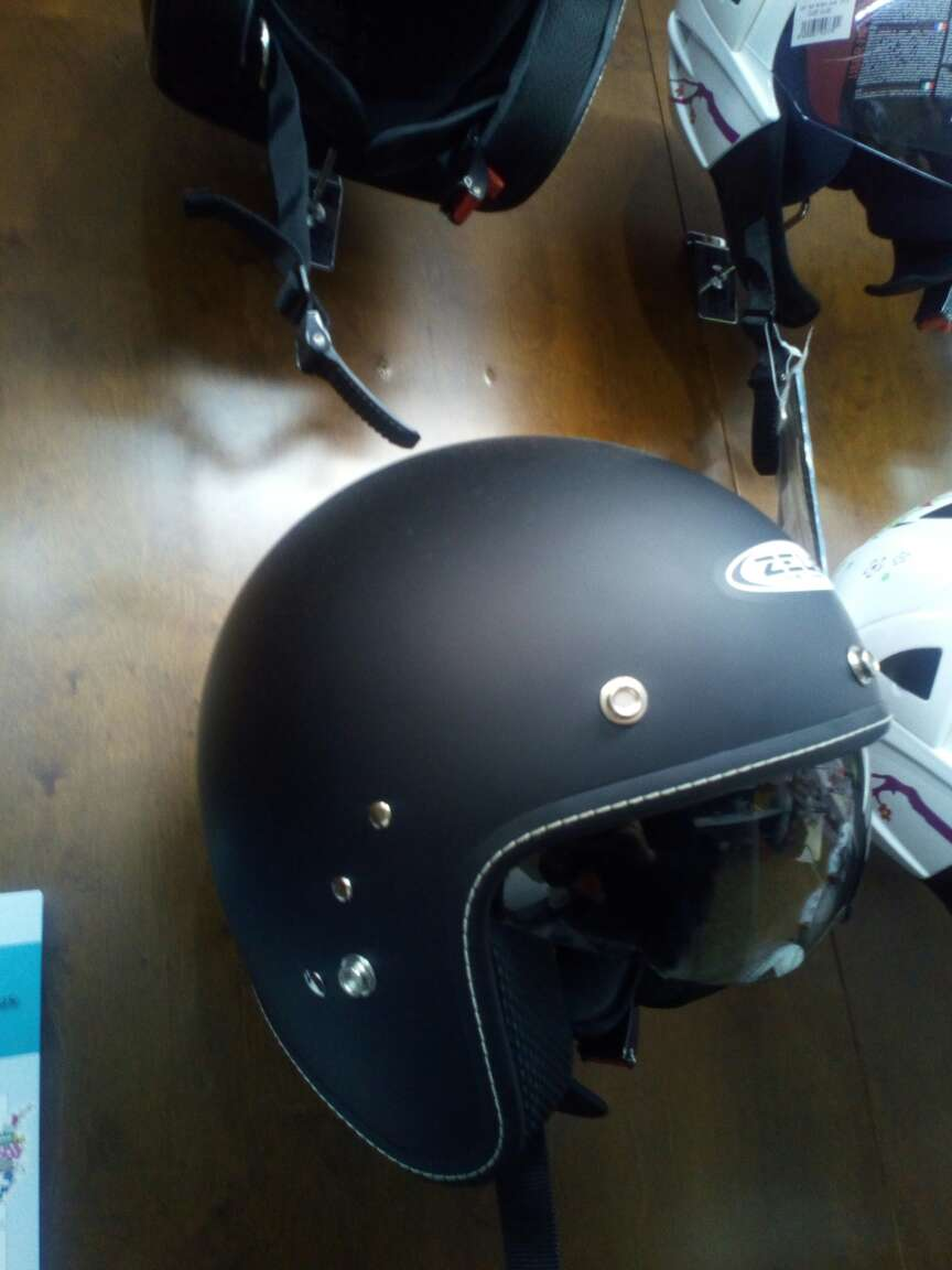 Imagen casco casco moto custom nuevo