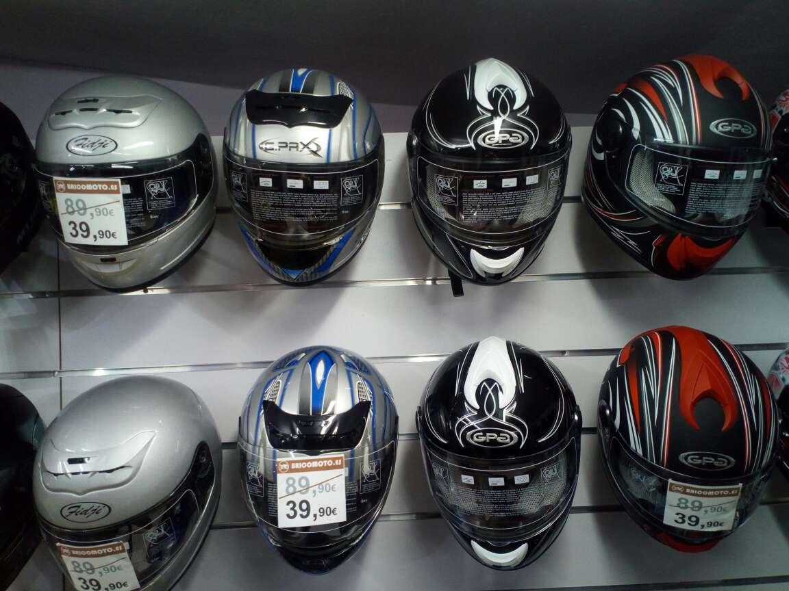 Imagen casco moto integral nuevo