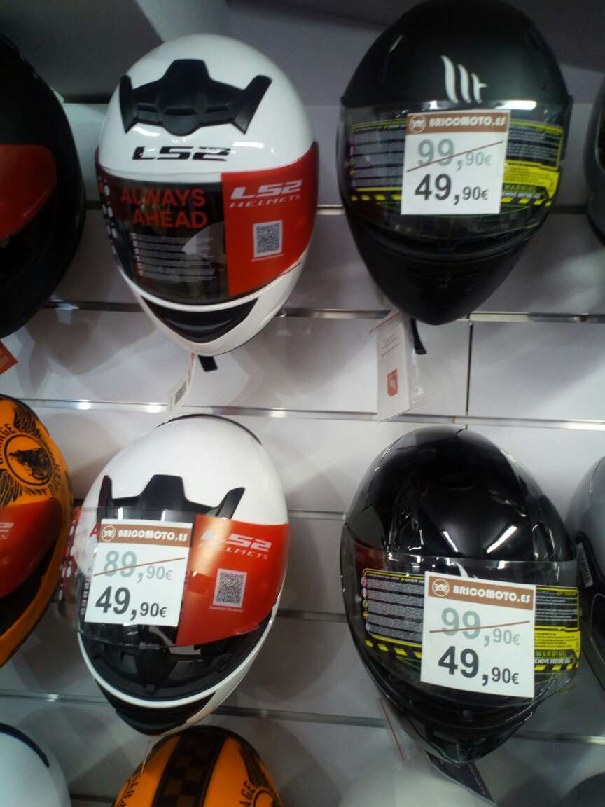 Imagen casco moto integral nuevo de marca