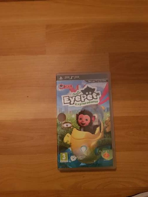 Imagen juego psp eyepet