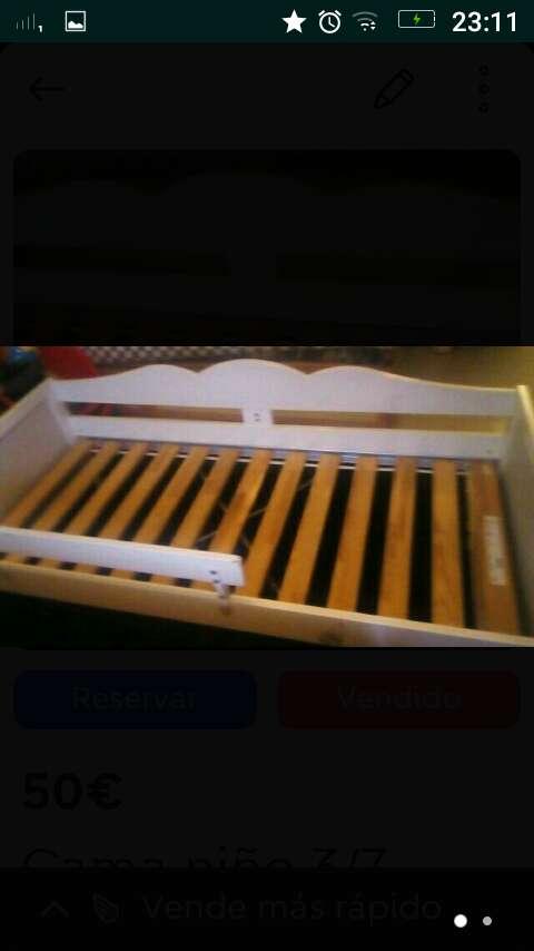 Imagen cama niño 3/7 años Ikea