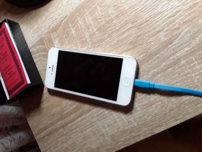 Imagen IPhone 5 Blanc et gris
