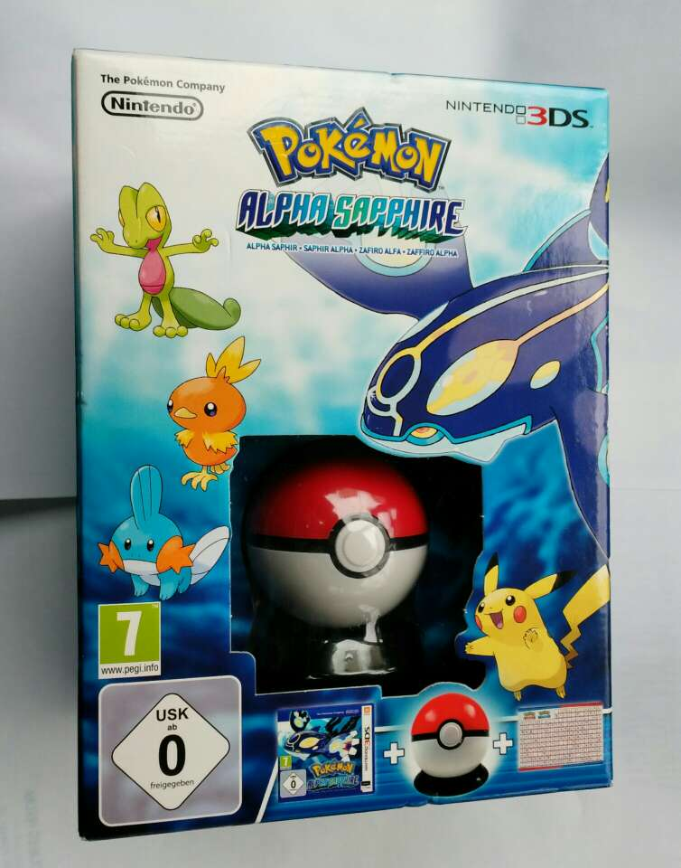 Imagen Pokémon zafiro alfa edic. limitada, nuevo