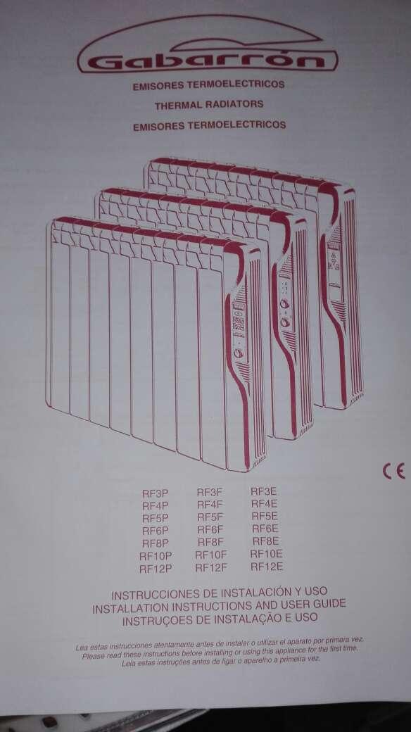 Imagen producto Emisor termico calor azul 2