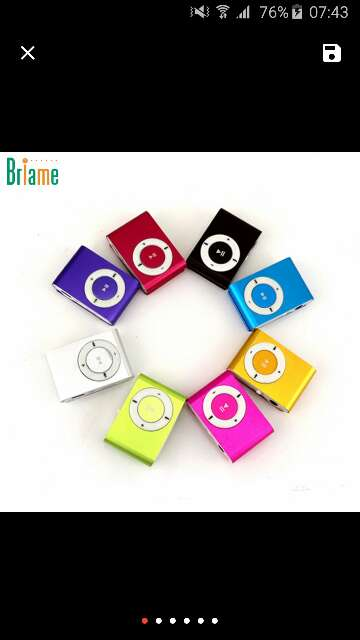Imagen producto Mp3 player 4