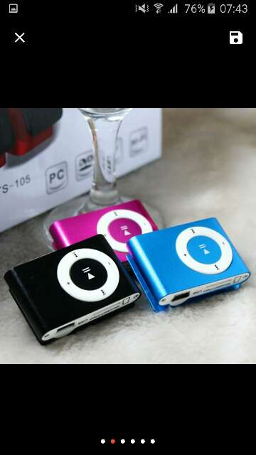 Imagen producto Mp3 player 1
