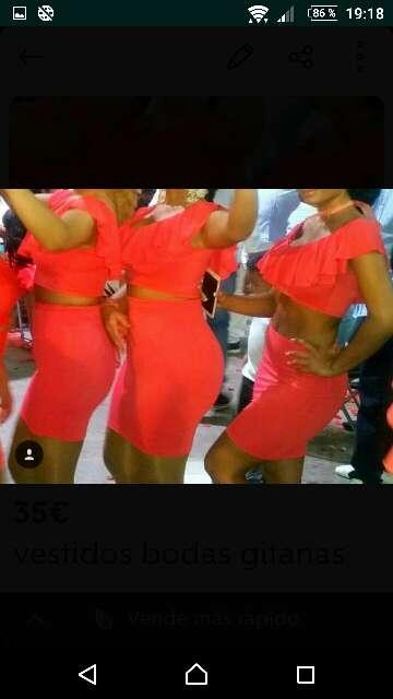 Imagen gitanas bodas vestidos