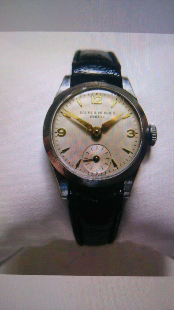 Imagen Authentique montre Suisse vintage BAUME & MERCIER