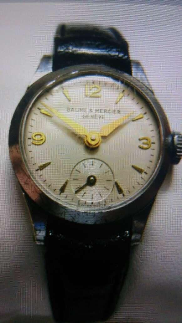 Imagen producto Authentique montre Suisse vintage BAUME & MERCIER 4