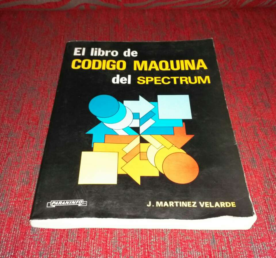 Imagen El libro de código maquina del spectrum
