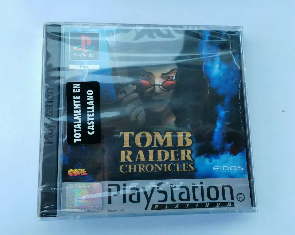 Imagen Tomb raider chronicles, precintado