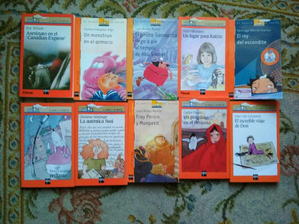 Imagen producto Libros barco de vapor serie naranja a 2 € 2