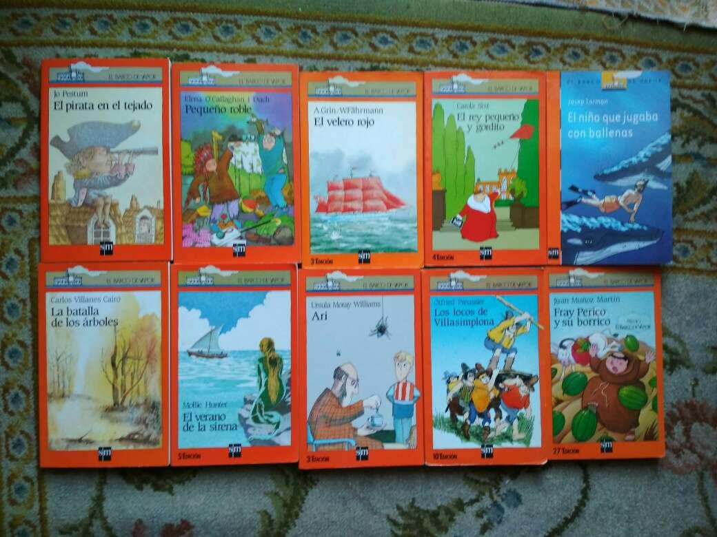 Imagen producto Libros barco de vapor serie naranja a 2 € 3
