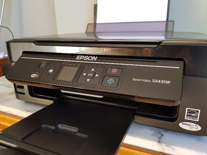 Imagen Oferta, impresora epson multifunción nueva