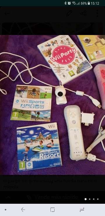 Imagen producto Wii+juegos+accesorios+mandos 2