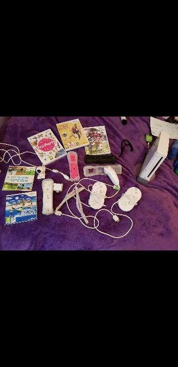 Imagen wii+juegos+accesorios+mandos