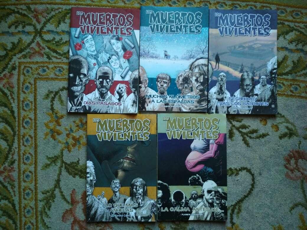 Imagen 5 comics los muertos vivientes