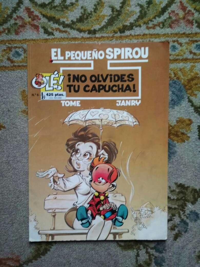 Imagen cómic el pequeño Spirou, número 6