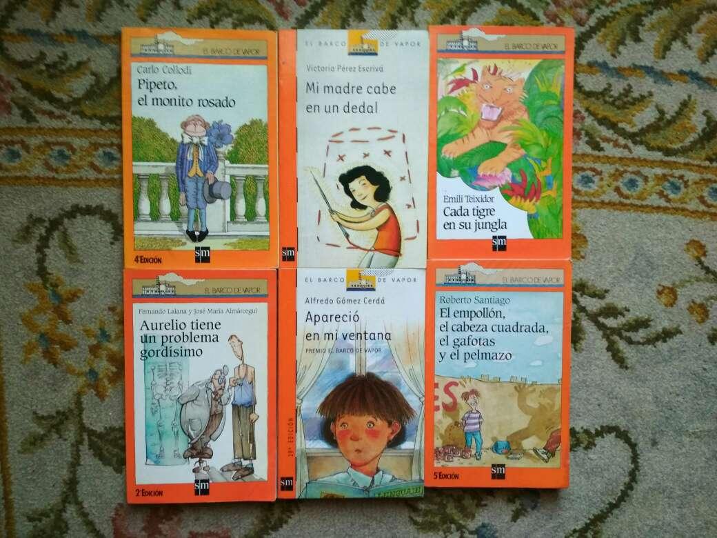 Imagen producto Libros barco de vapor serie naranja a 2 € 4