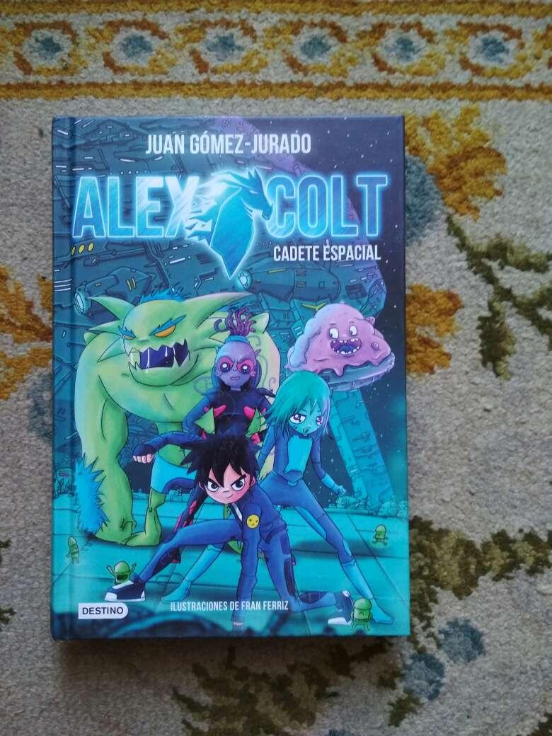 Imagen libro Alex Colt cadete espacial