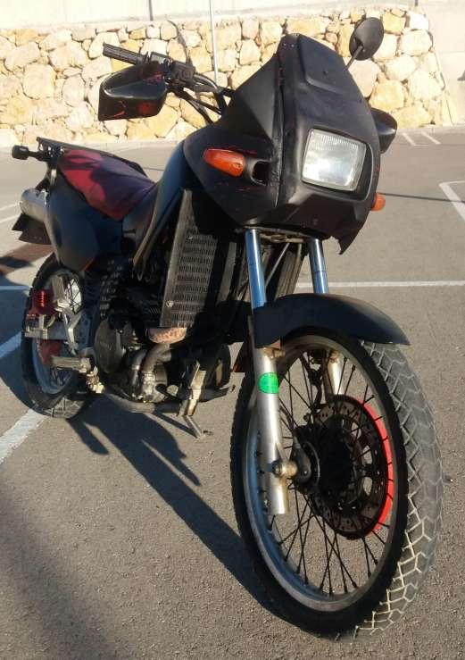 Imagen Kawasaki Tangai KLR 650cc