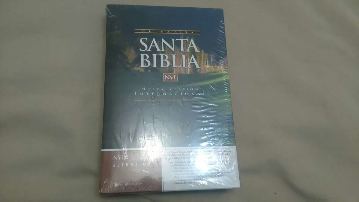 Imagen Santa Biblia nueva version