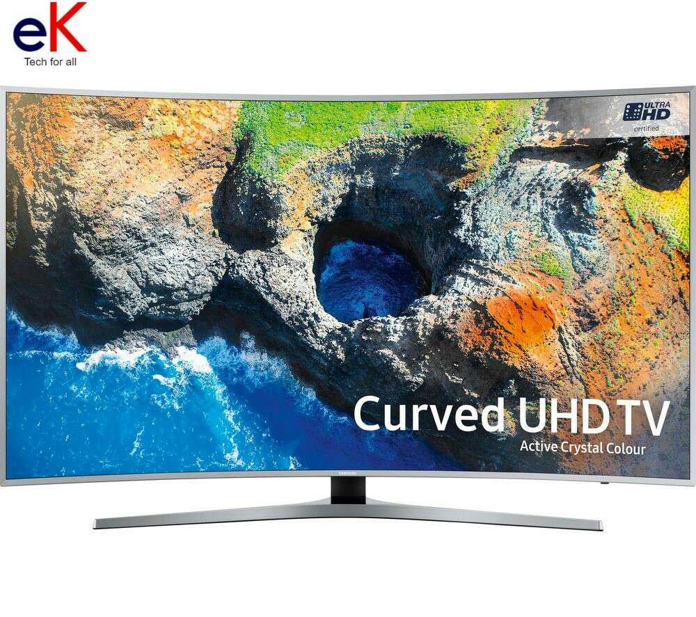 Imagen televisor samsung curved led 55
