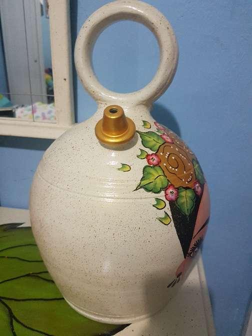 Imagen producto Botijo de barro pintado a mano 3