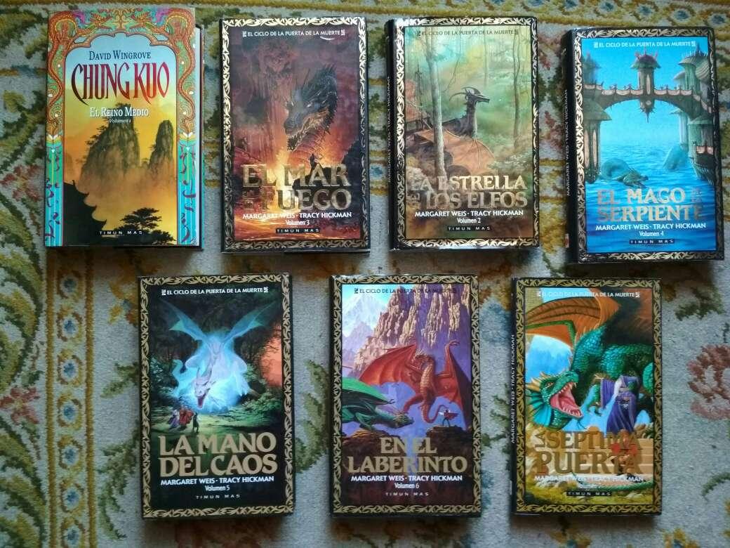 Imagen lote de 7 libros fantasía épica de Timun Mas