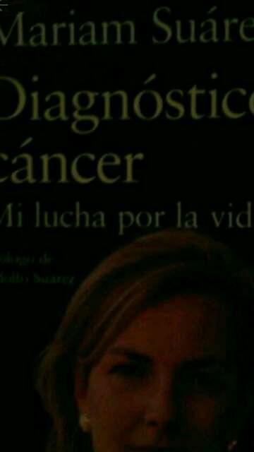 Imagen libro sobre el cancer