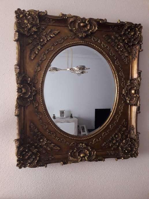 Imagen Espejo grande clásico de auténtica madera