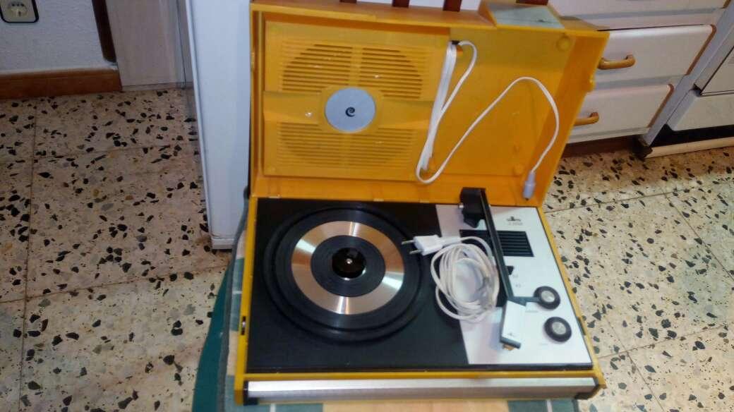 Imagen toca discos