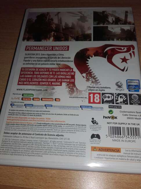 Imagen producto Operation flashpoint red river 2