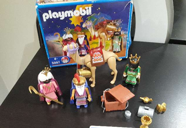 Imagen producto Reyes Playmobil descatalogado 1