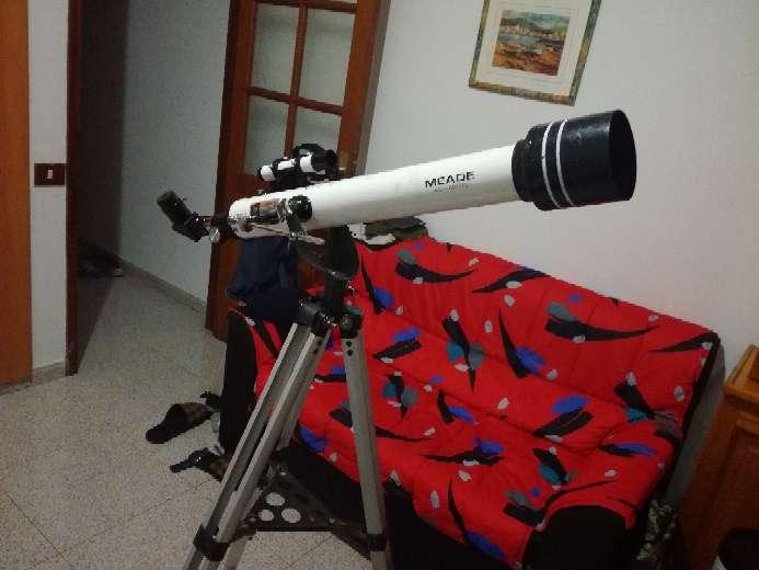 Imagen Telescopio  MEADE