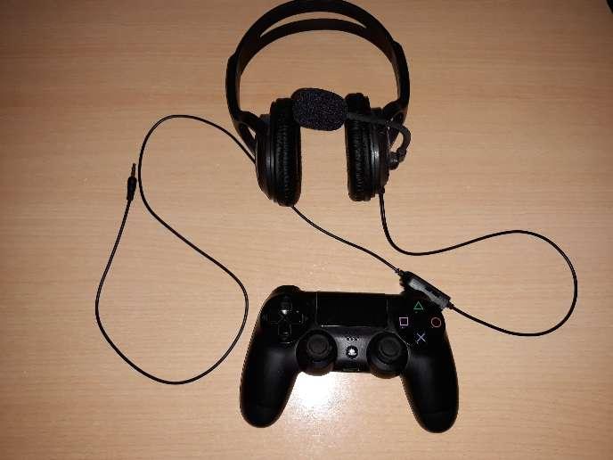 Imagen producto Ps4+mando+juegos+cascos 2