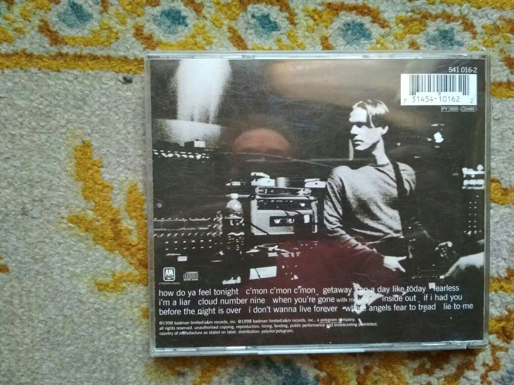 Imagen producto CD Bryan Adams on a day like today 4
