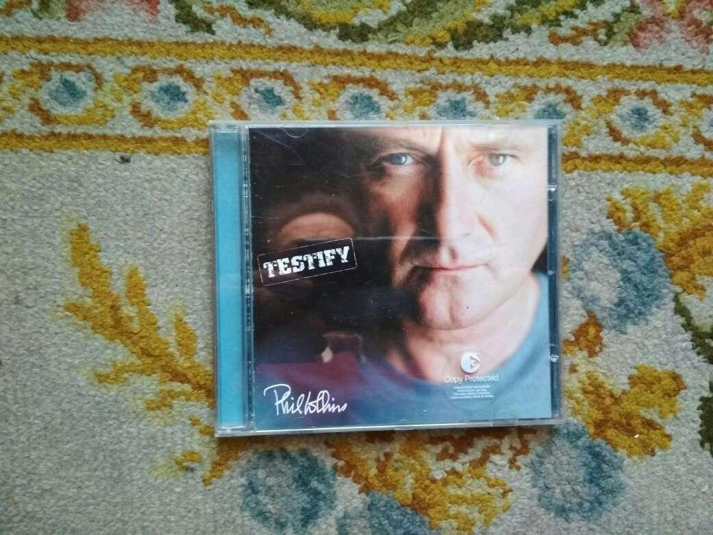 Imagen CD Phil Collins testify