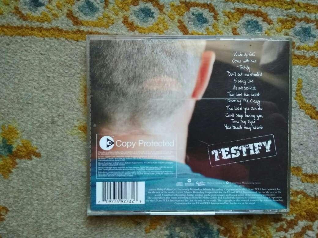 Imagen producto CD Phil Collins testify 4