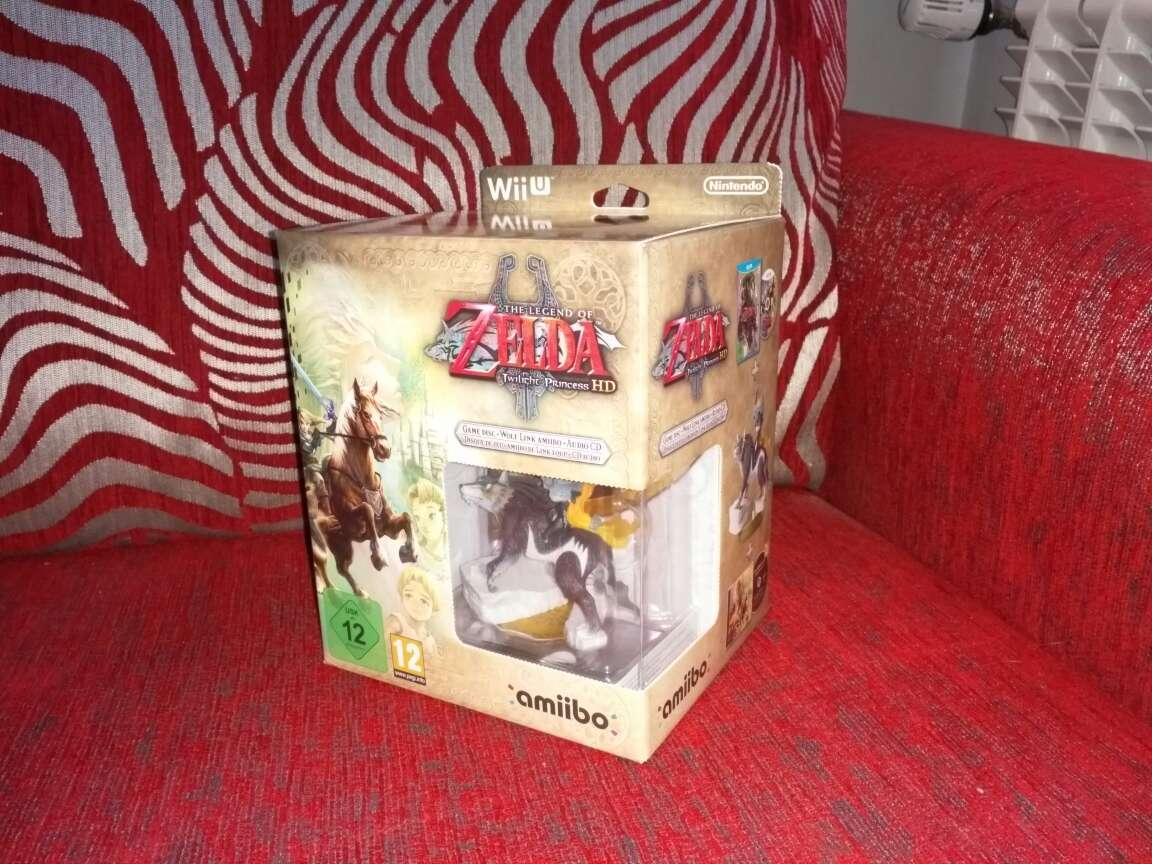 Imagen Edición Zelda twilight Princess HD, nueva